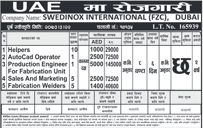 SALES AND MARKETING, Auto Cad Operator, Production Engineer Jobs in ...
