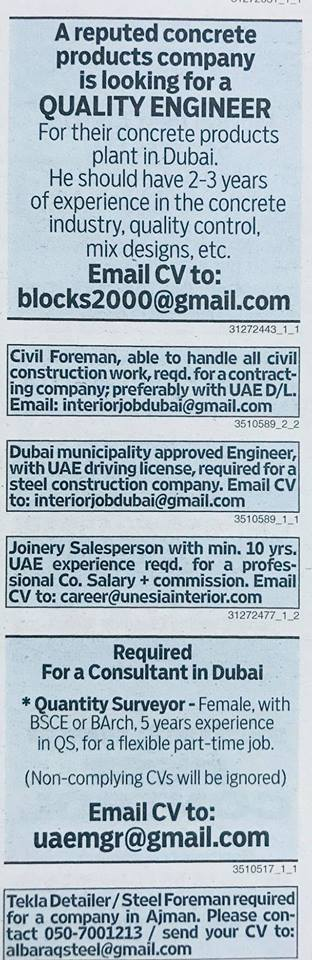 Job vacancy published on 26 October 2017 – Job Finder in