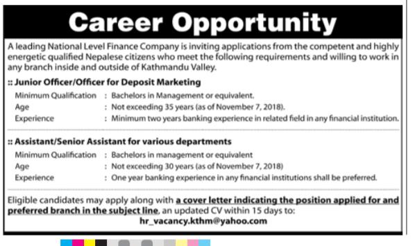 jun – Job Finder in Nepal, Nepali Job Finder Portal, Finds